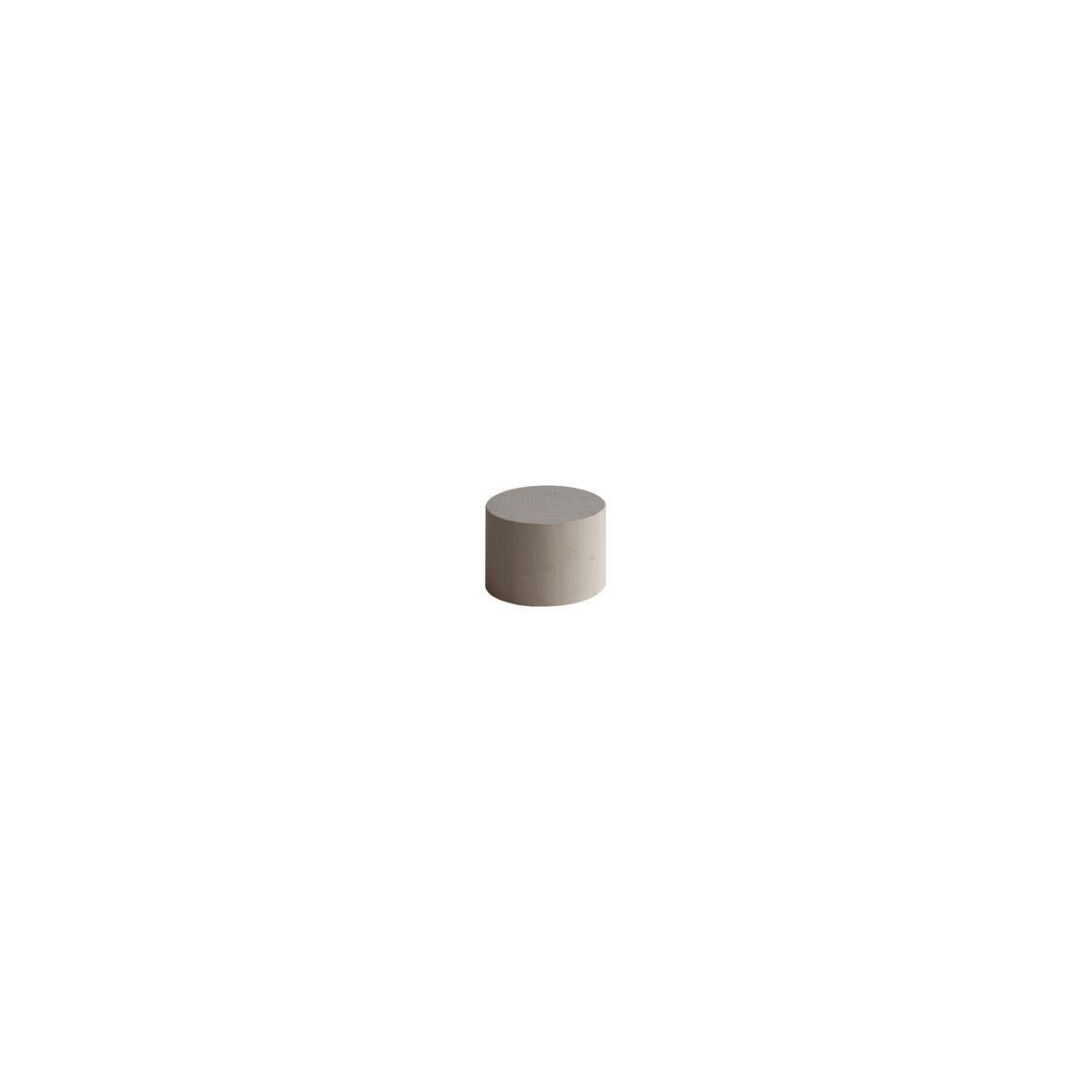 Solido geometrico cilindro in faggio grezzo 1030 x 180 x 100 mm 4 pezzi