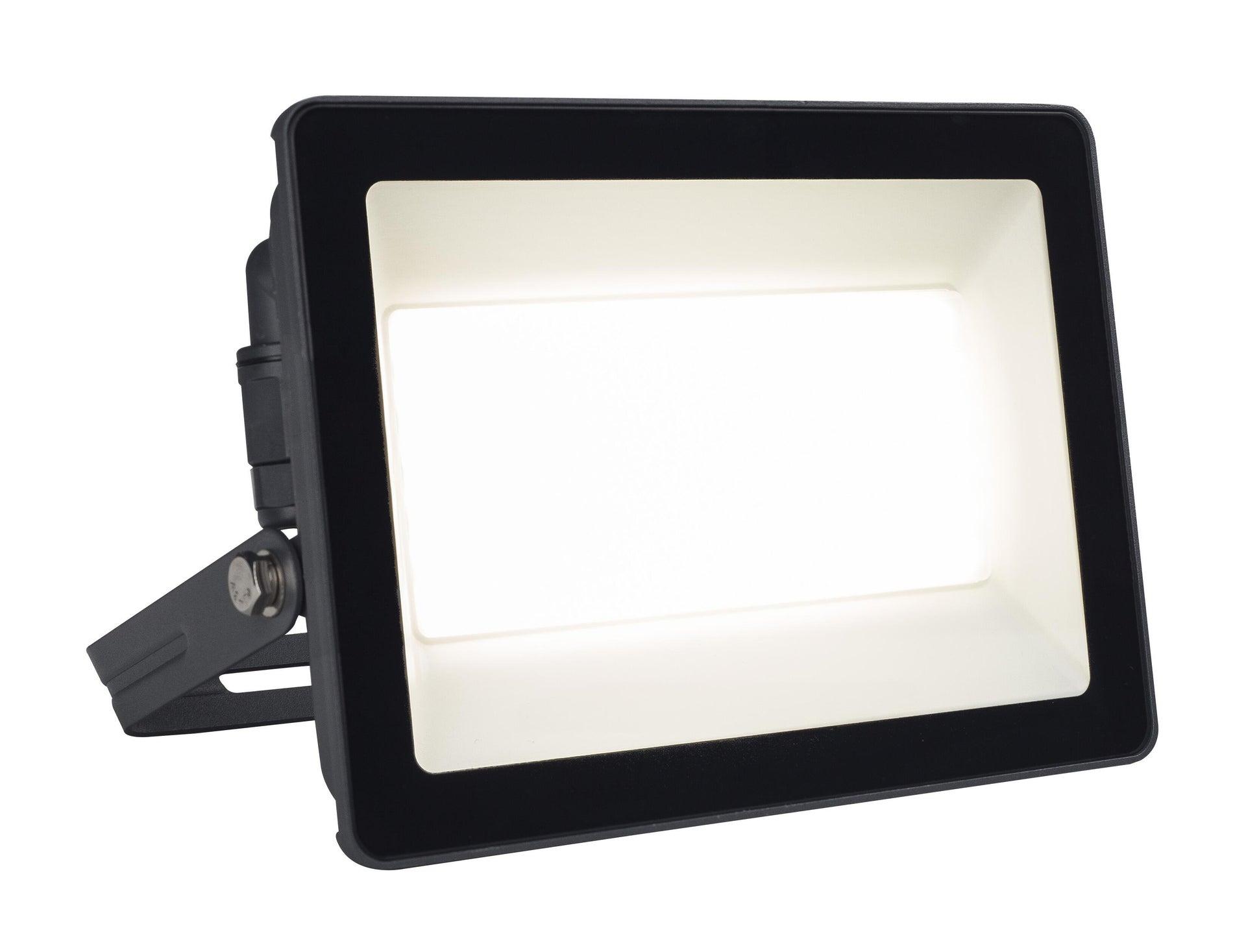 Proiettore LED integrato Yonkers in alluminio, antracite, 100W 6500LM IP65 INSPIRE - 1
