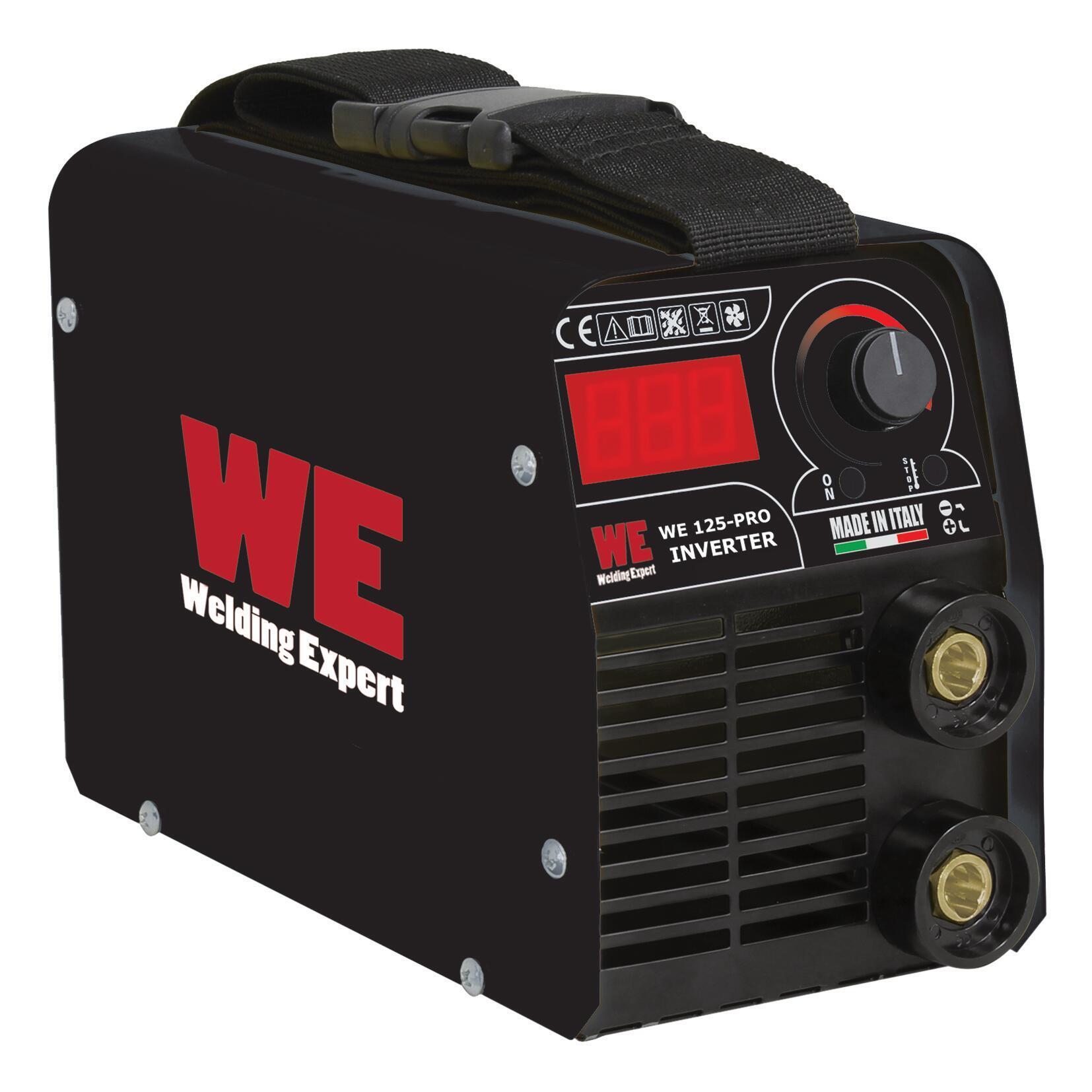 Saldatrice inverter WE 125 PRO mma 125 A 4200 W - 1