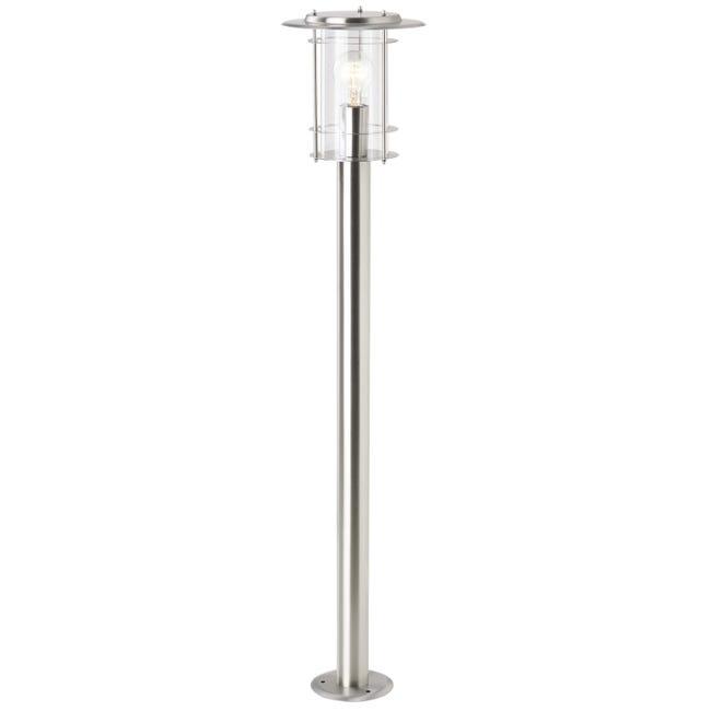 Lampione York H100 cm in alluminio, acciaio, E27 1x MAX 40W IP44 BRILLIANT - 1