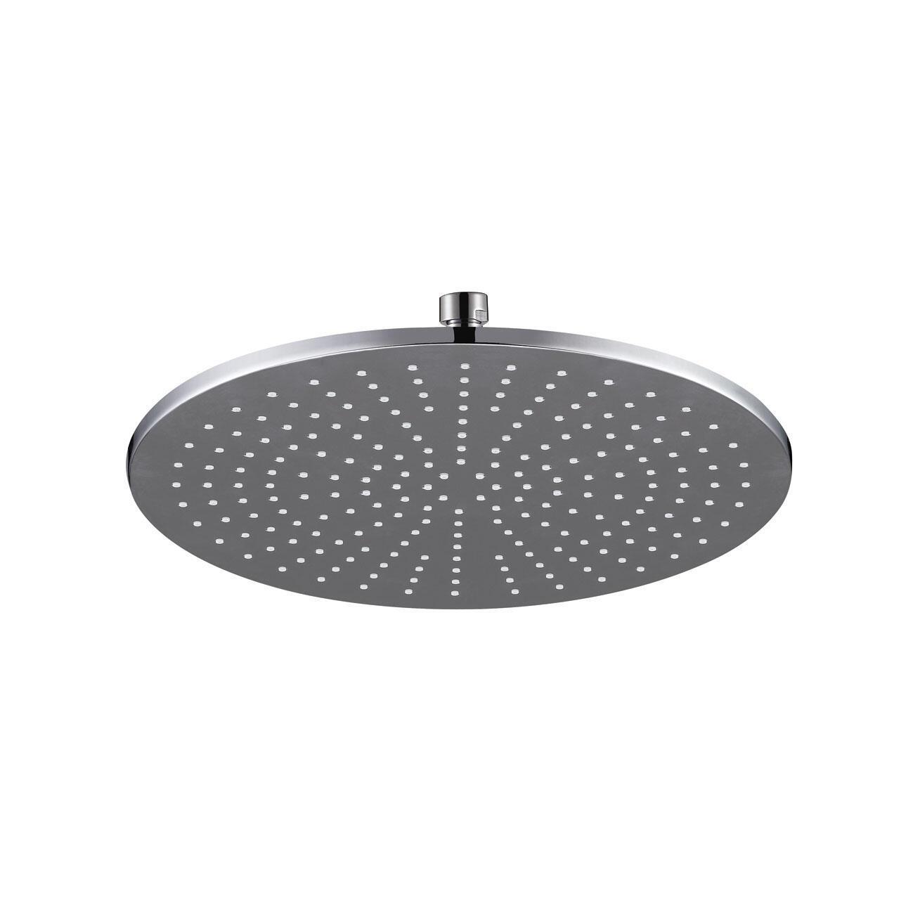 Soffione doccia Orlando in ottone argento cromato