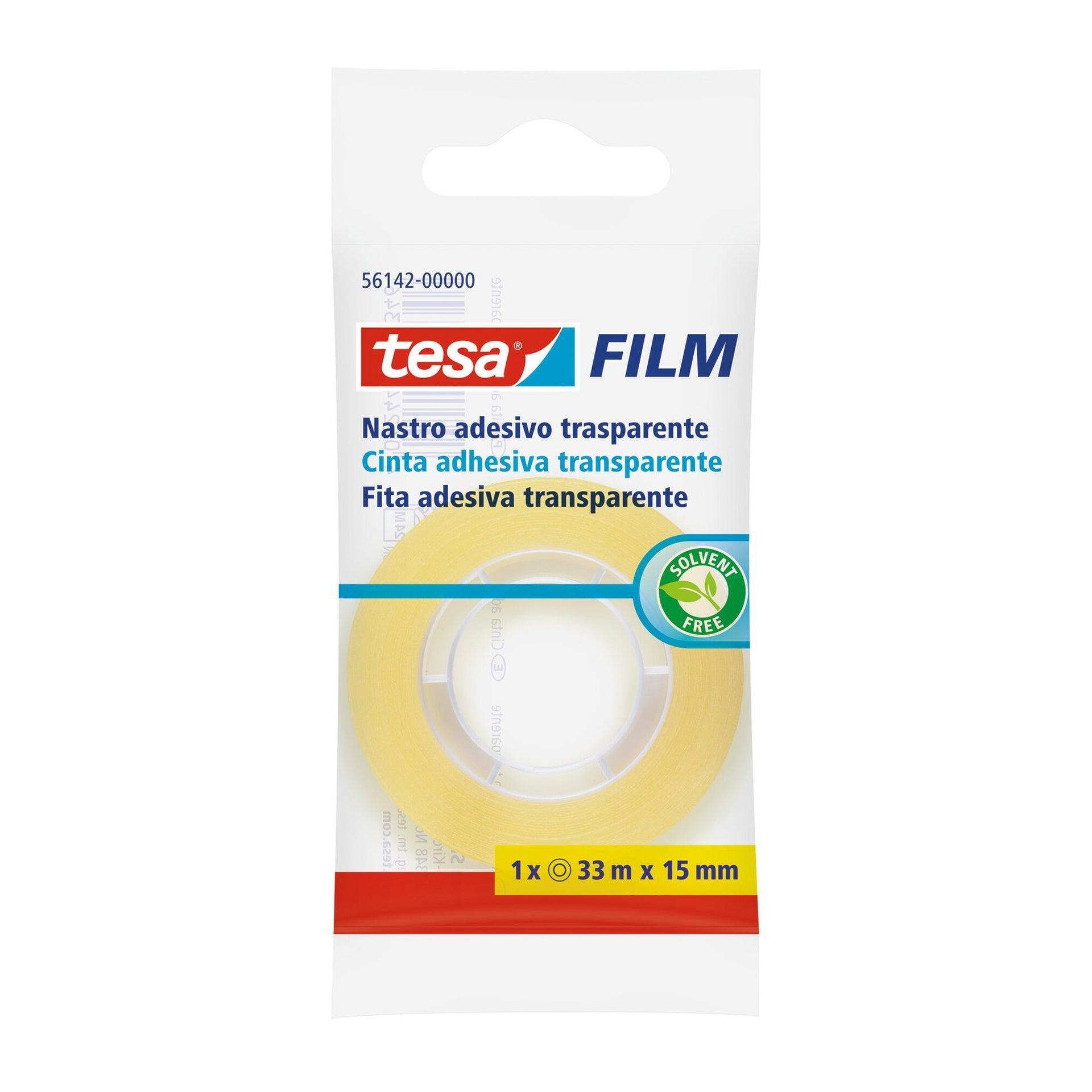 Nastro adesivo TESA tesafilm 15 mm x 0.015 m trasparente - 6