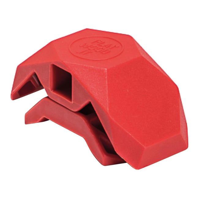 Sistema di assemblaggio PLAYWOOD 90° in pvc , rosso - 1
