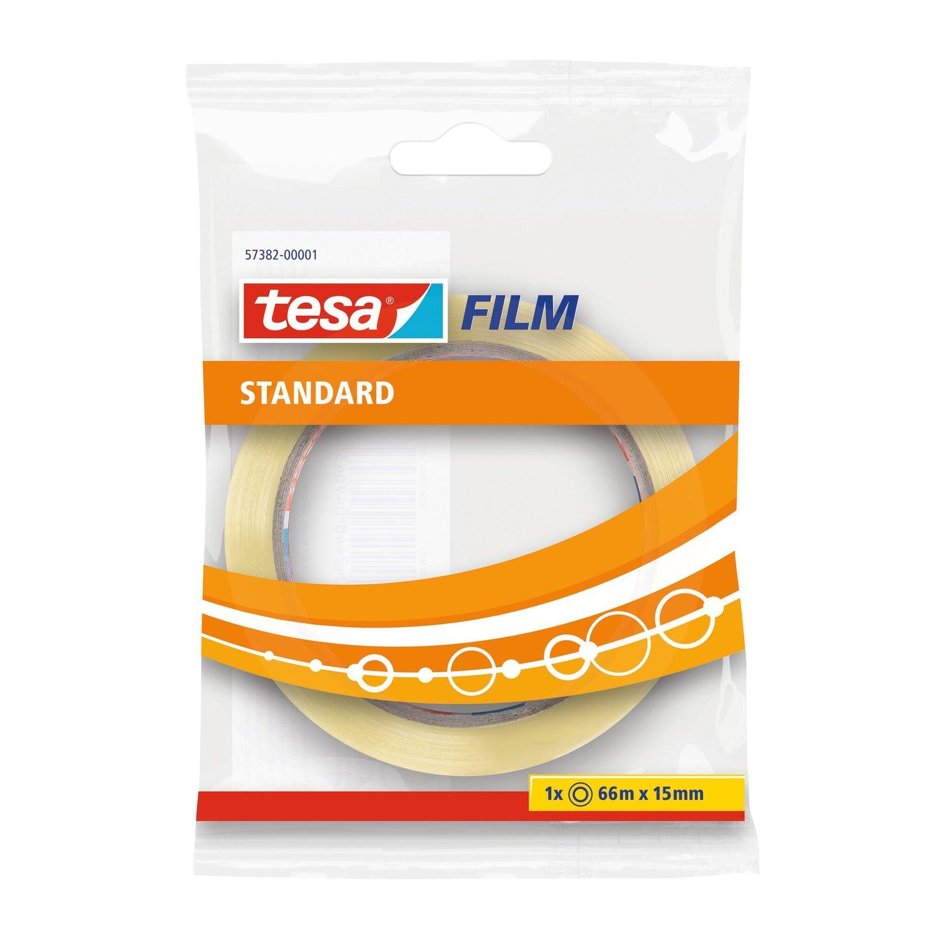 Nastro adesivo TESA tesafilm 15 mm x 66 m trasparente - 8