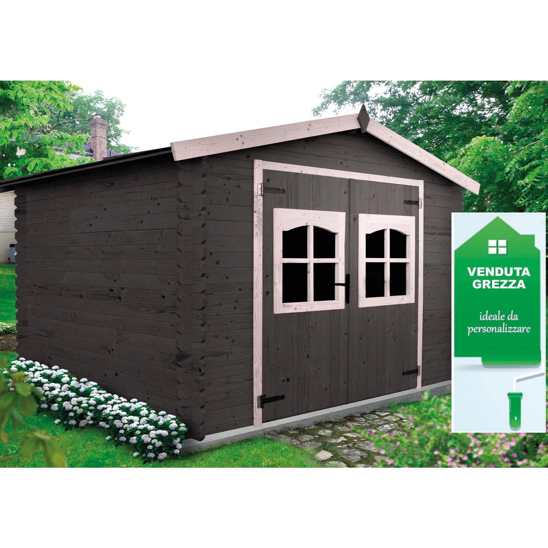 Casetta da giardino in legno Elista, superficie interna 6.66 m² e spessore parete 19 mm - 3