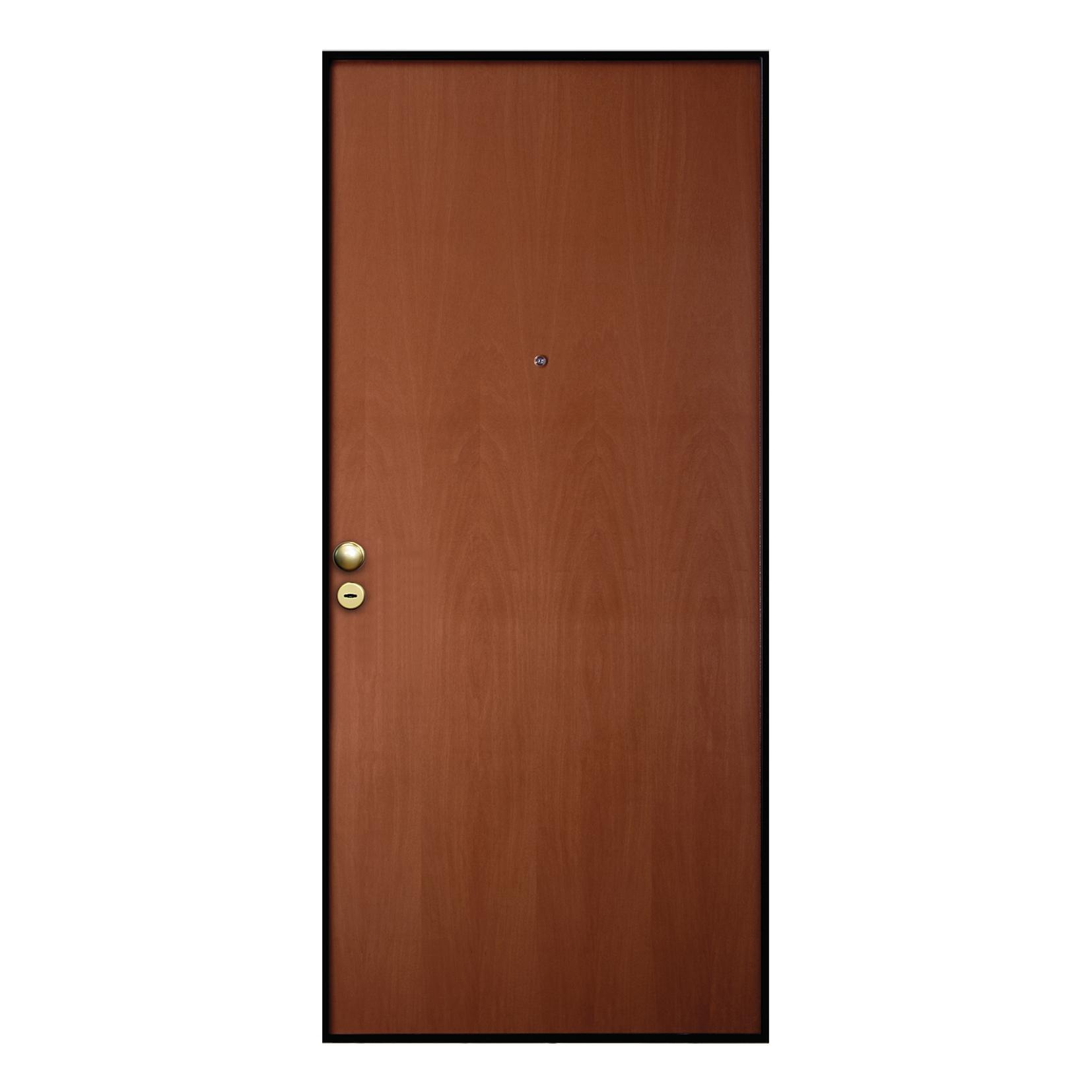Porta blindata Good noce L 90 x H 210 cm destra - 3