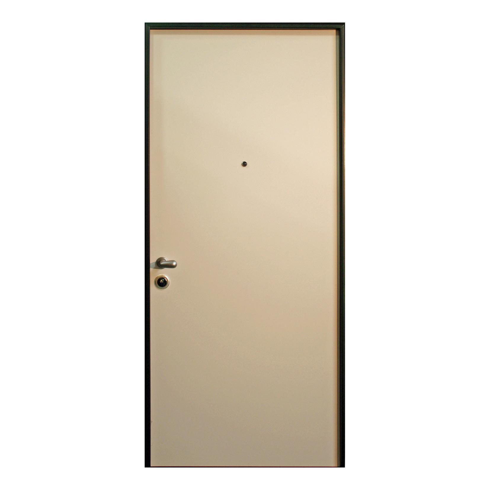 Porta blindata Confort bianco L 90 x H 210 cm destra - 5