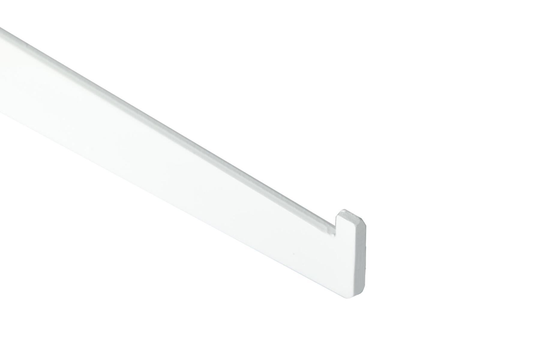 Supporto per cremagliera semplice Spaceo L 51.7 x H 12.0 x P 50.0 cm bianco - 3