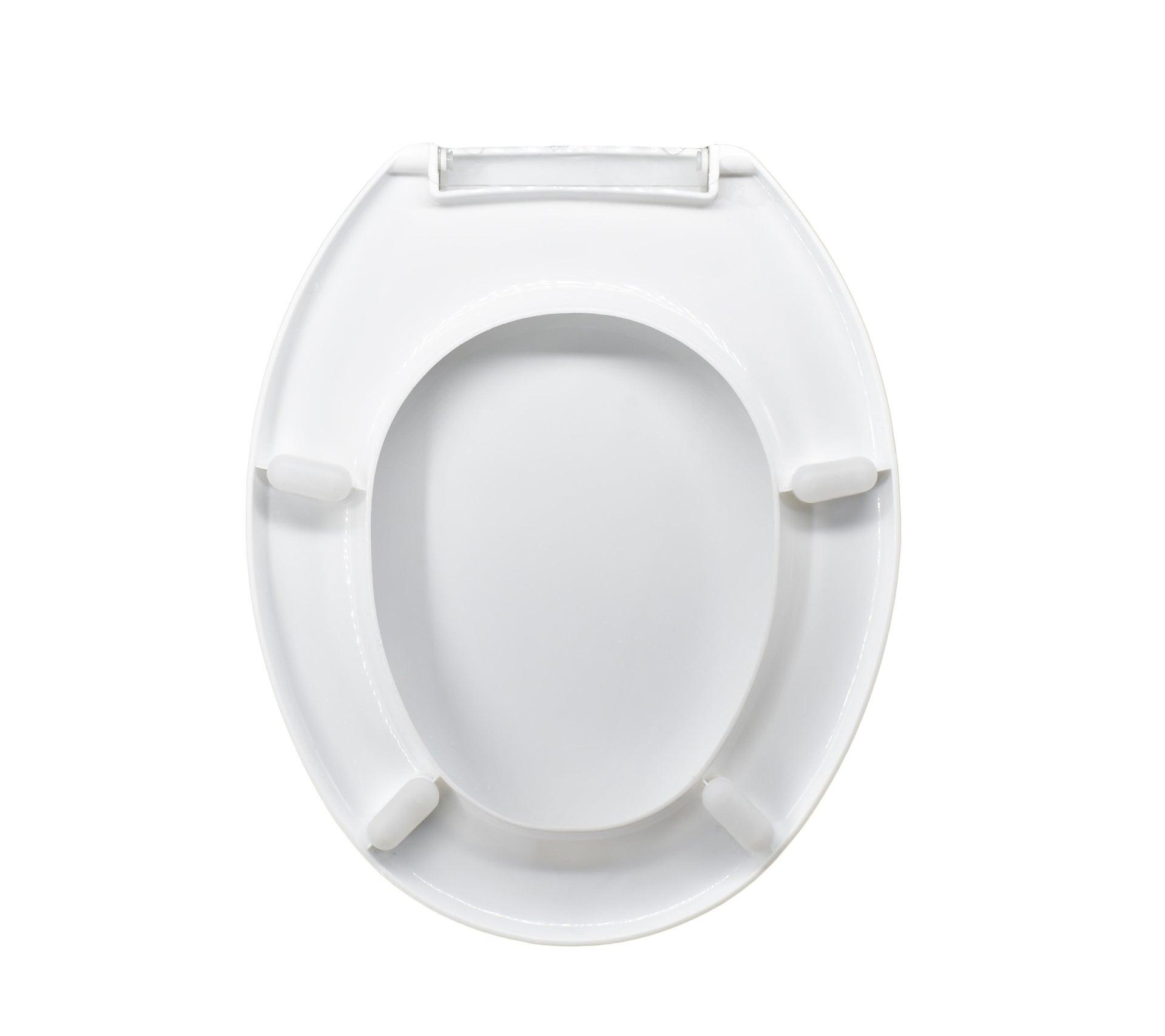 Copriwater ovale Universale Cefalo plastica bianco - 2