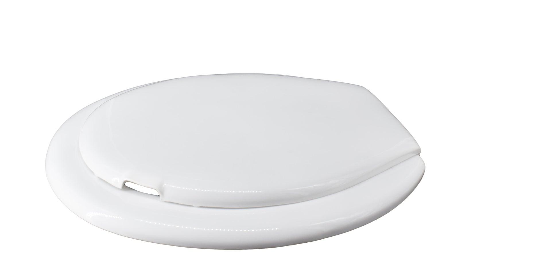 Copriwater ovale Universale Cefalo plastica bianco - 4