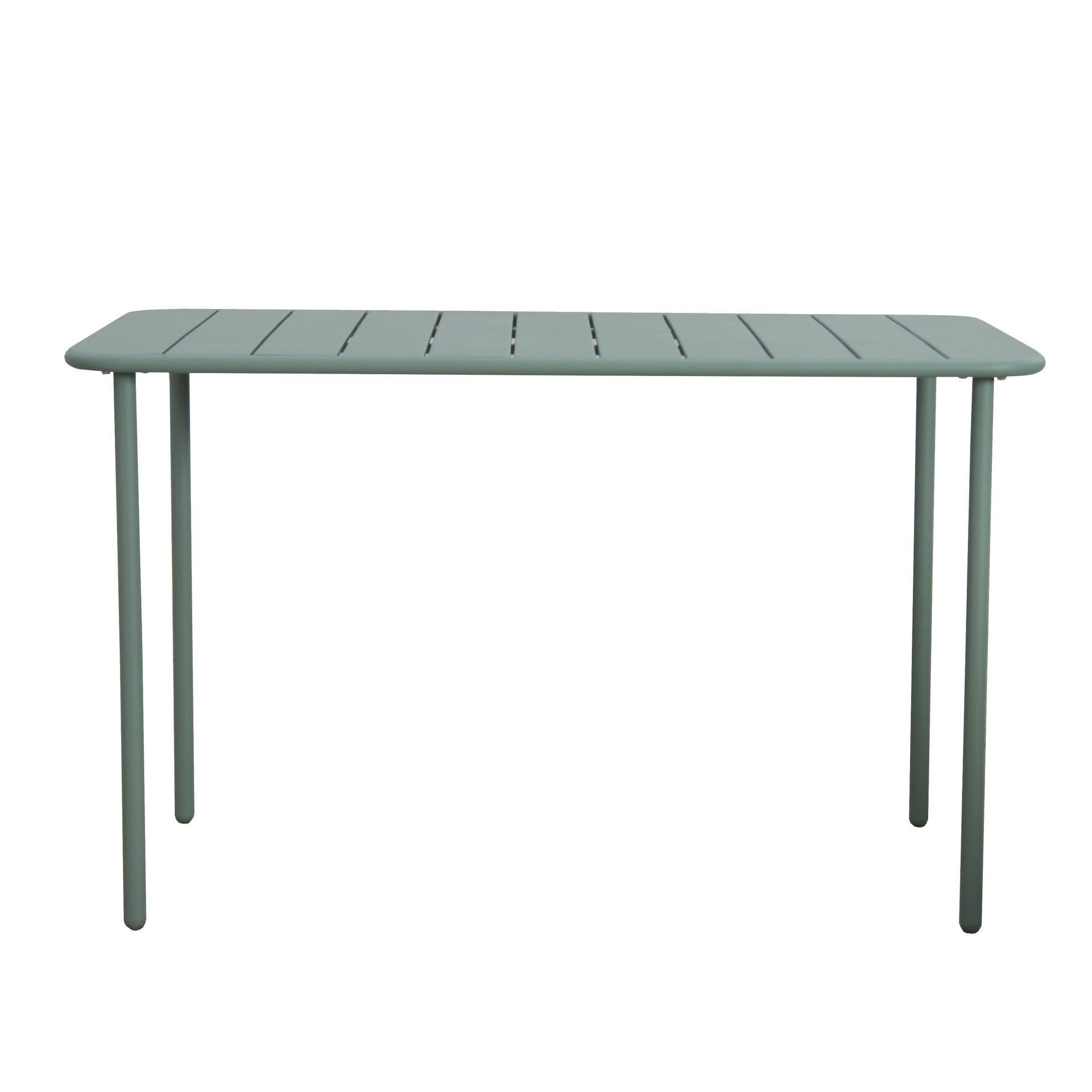Tavolo da giardino rettangolare Cafe con piano in metallo L 70 x P 120 cm - 9
