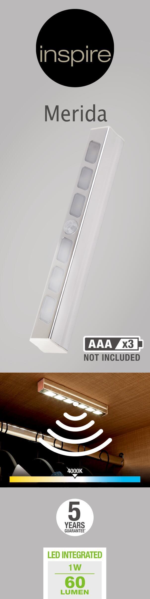 Illuminazione mobili LED integrato Merida 50 LM IP20 Inspire - 11