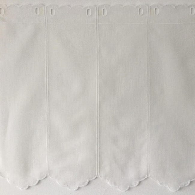 Tessuto al taglio Tirolese bianco 0.01 cm - 1