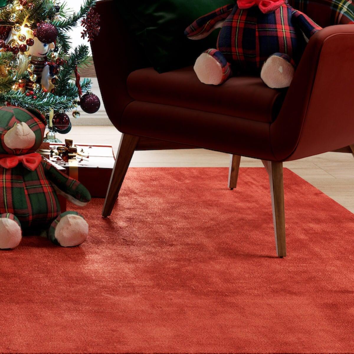 Tappeto Shaggy coccole , rosso, 120x170 - 7