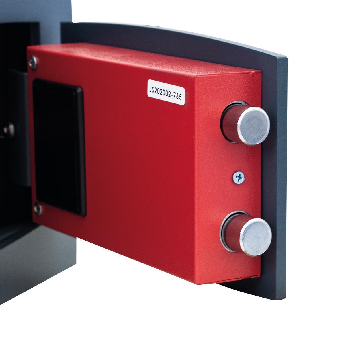 Cassaforte con codice elettronico STARK 852A da murare L 36 x P 19.5 x H 23 cm - 6