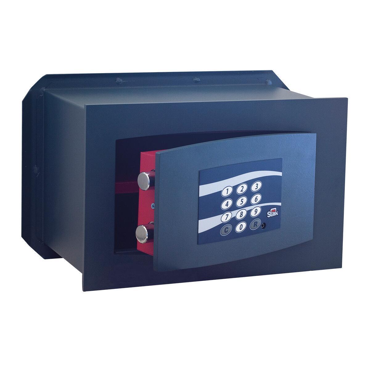 Cassaforte con codice elettronico STARK 852A da murare L 36 x P 19.5 x H 23 cm - 1