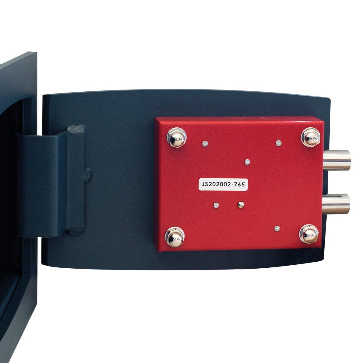 Cassaforte a chiave STARK 800A da murare L26 x P15 x H18 cm - 4