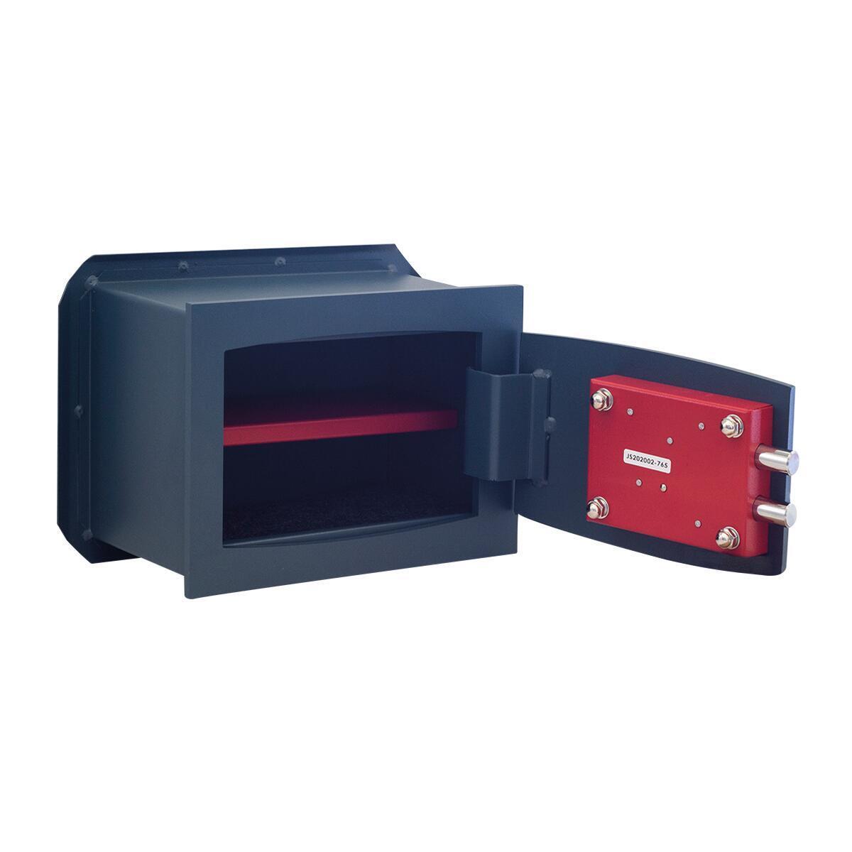 Cassaforte a chiave STARK 800A da murare L26 x P15 x H18 cm - 5