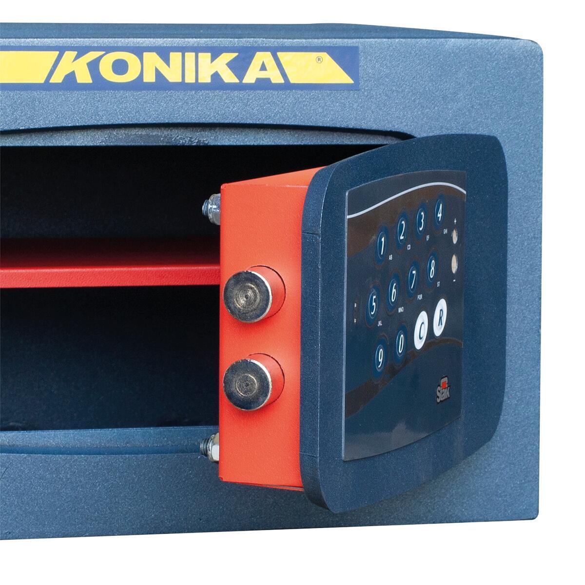 Cassaforte con codice elettronico STARK 3252TK da fissare a parete L 37 x P 32 x H 24 cm - 3