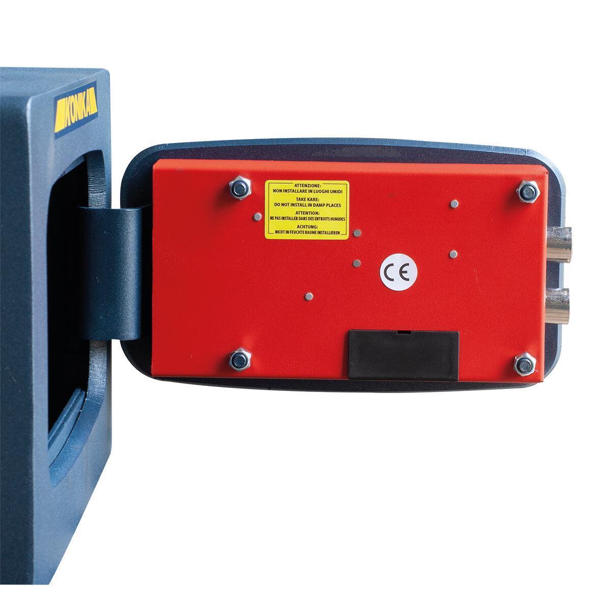 Cassaforte con codice elettronico STARK 3252TK da fissare a parete L 37 x P 32 x H 24 cm - 4
