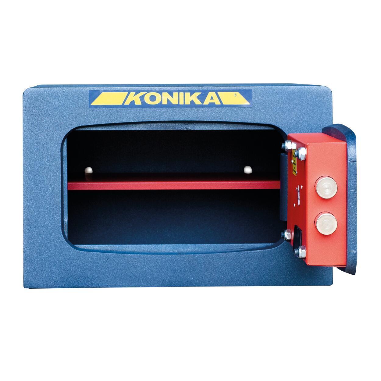 Cassaforte con codice elettronico STARK 3252TK da fissare a parete L 37 x P 32 x H 24 cm - 2