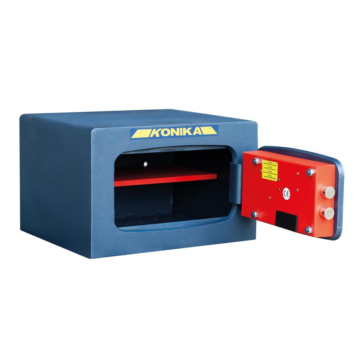 Cassaforte con codice elettronico STARK 3252TK da fissare a parete L 37 x P 32 x H 24 cm - 5