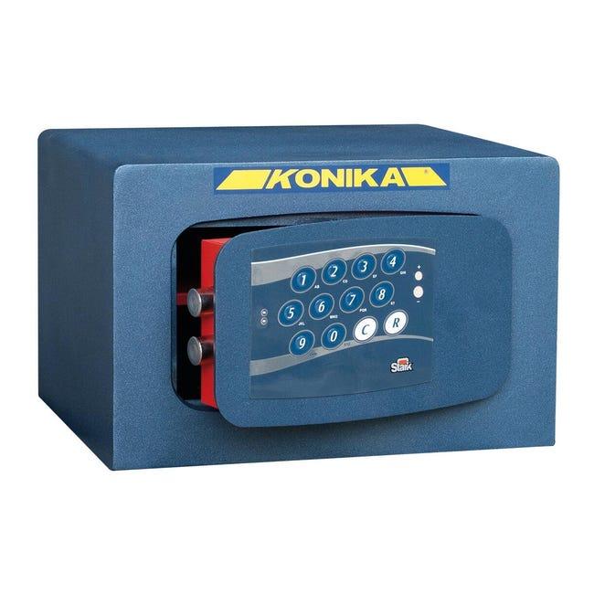 Cassaforte con codice elettronico STARK 3252TK da fissare a parete L 37 x P 32 x H 24 cm - 1