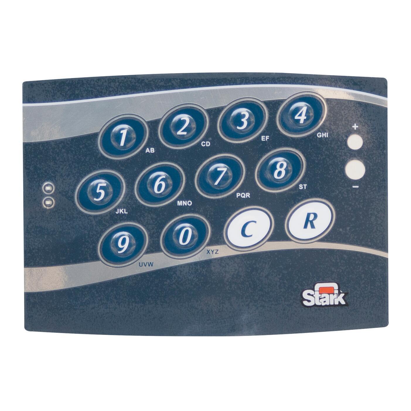 Cassaforte con codice elettronico STARK 3252TK da fissare a parete L 37 x P 32 x H 24 cm - 6
