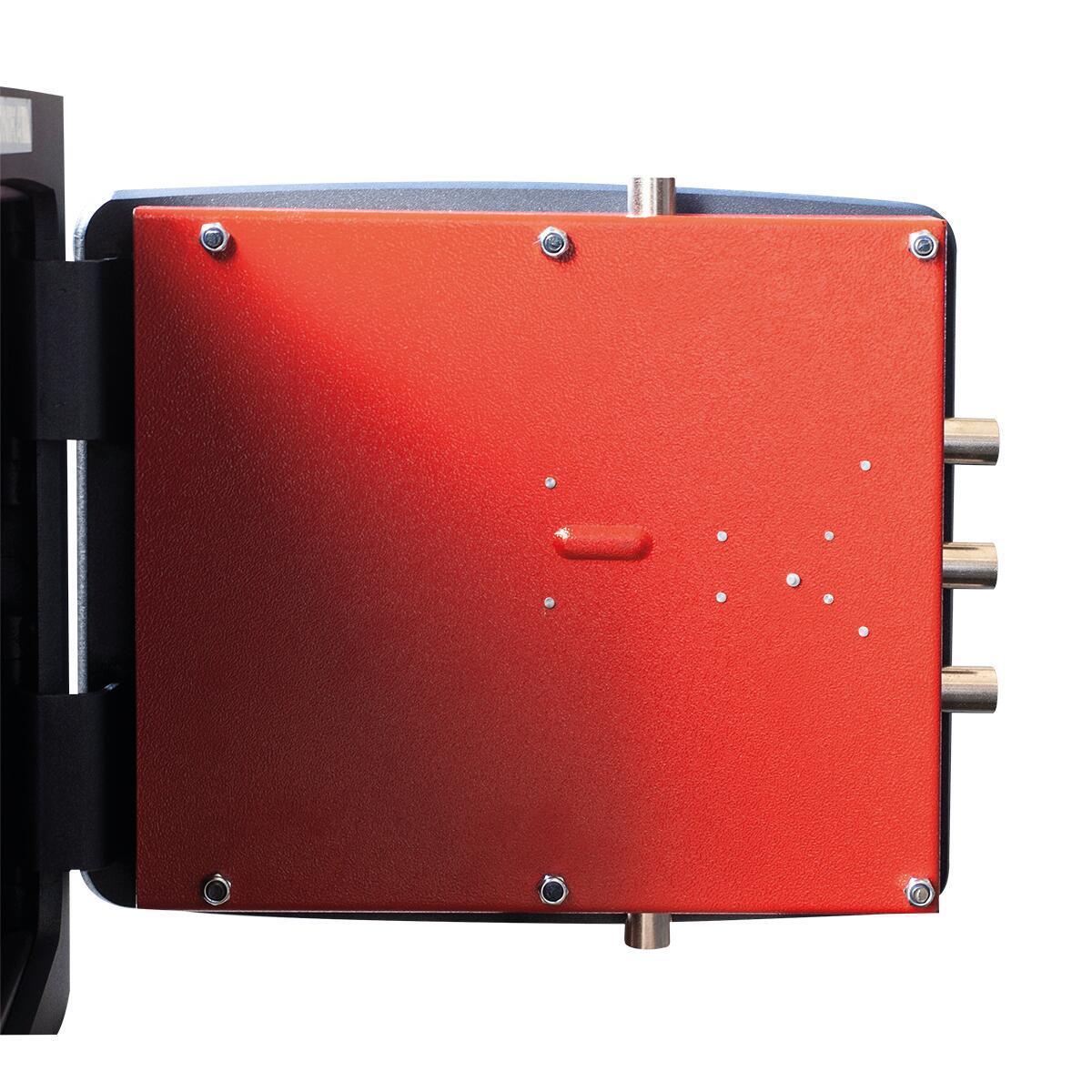 Cassaforte a chiave STARK 1205P da murare L32 x P24 x H49 cm - 5