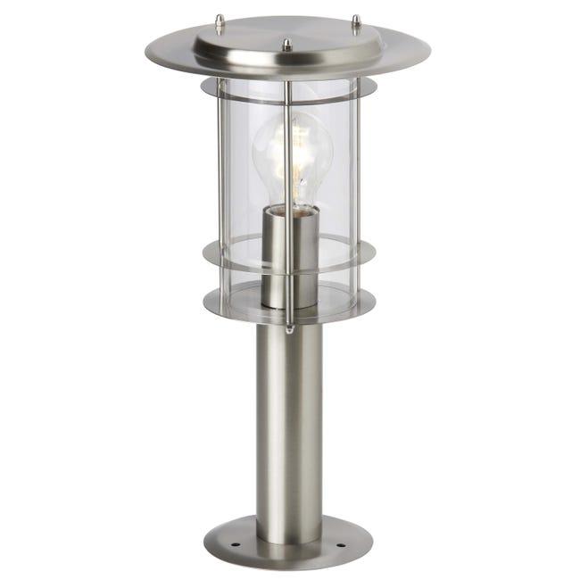 Lampioncino York H40 cm in alluminio, acciaio, E27 1x MAX 40W IP44 BRILLIANT - 1