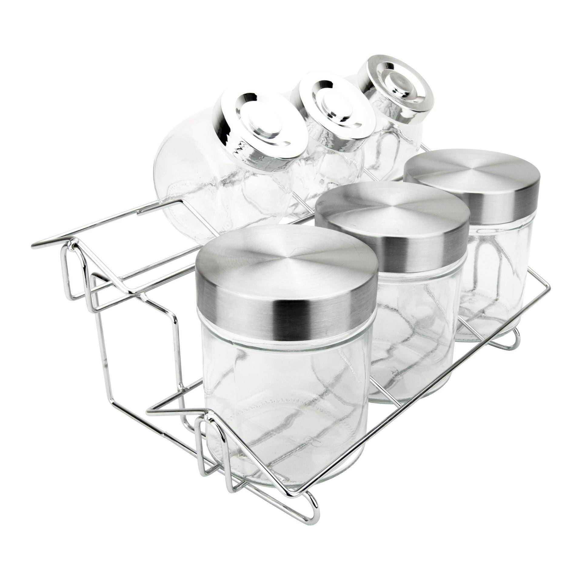 Contenitore per spezie in vetro trasparente - 3