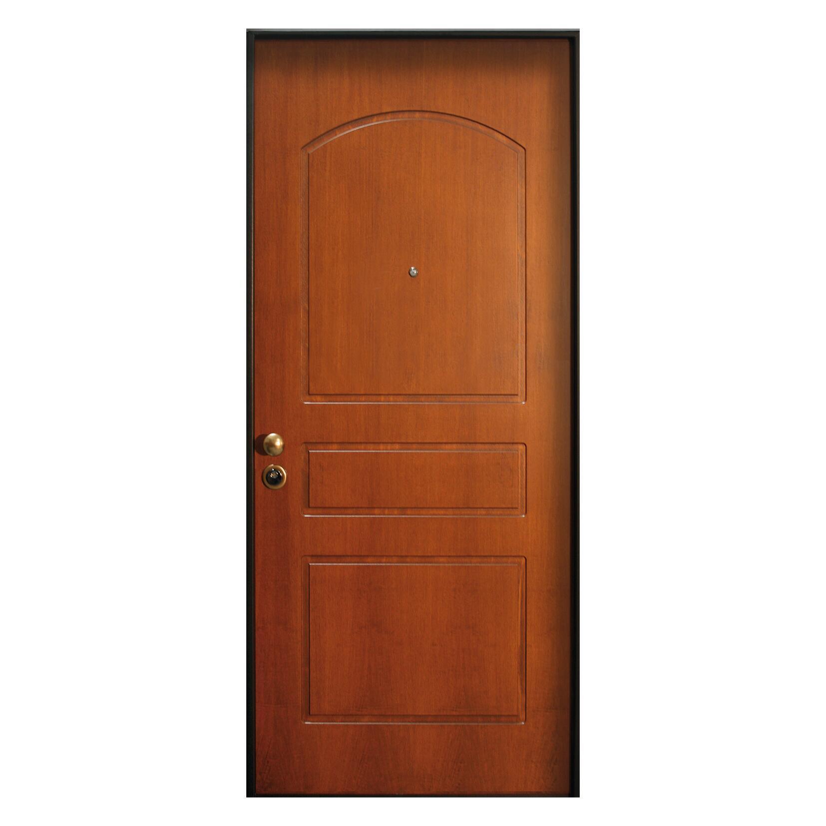 Porta blindata Better noce L 80 x H 210 cm destra - 1
