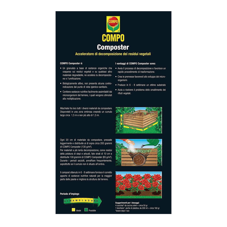 Attivatore di compostaggio granulare granulare COMPO 2 kg - 3