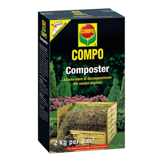 Attivatore di compostaggio granulare granulare COMPO 2 kg - 1