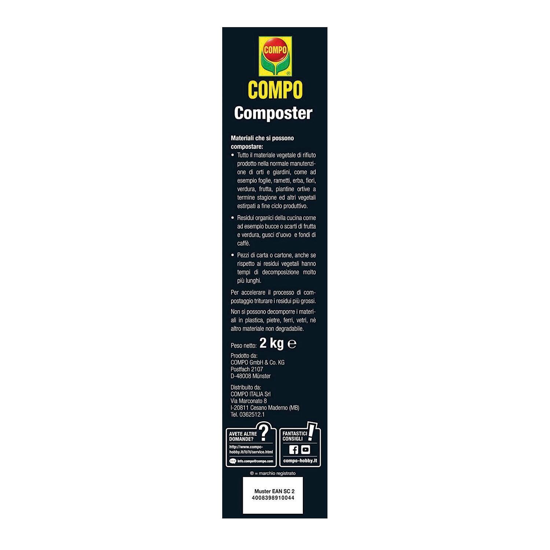 Attivatore di compostaggio granulare granulare COMPO 2 kg - 4