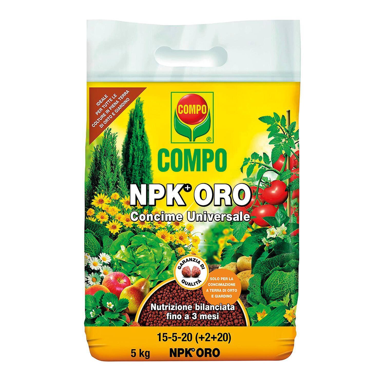 Concime granulare COMPO Npk oro 5 Kg - 5