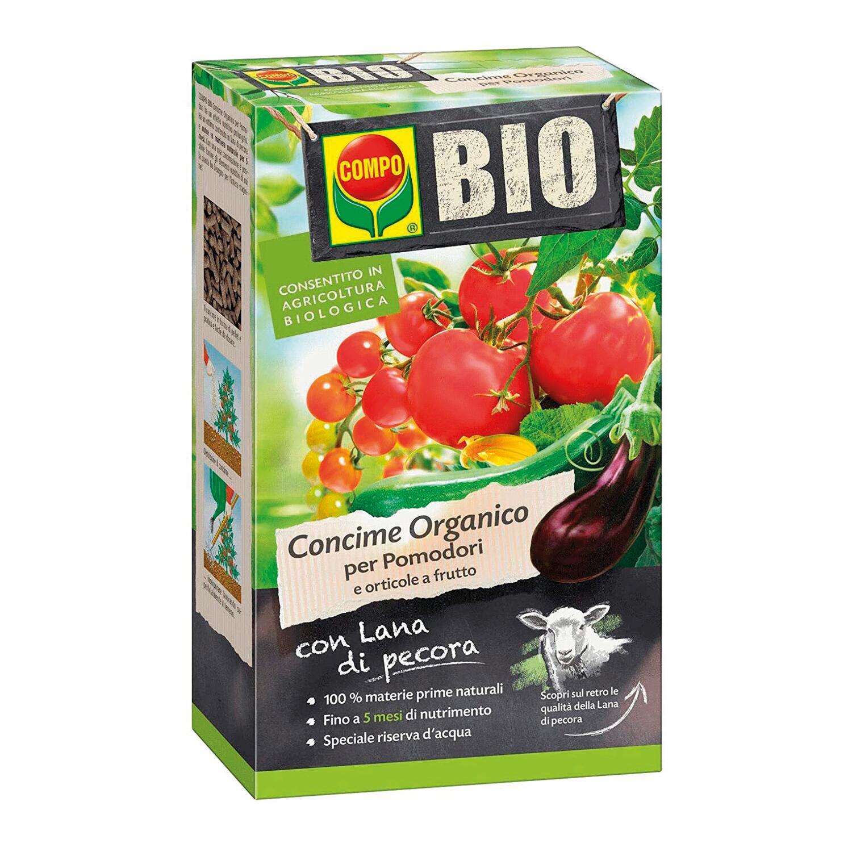 Concime organico granulare COMPO Bio per pomodori 750 Gr - 2