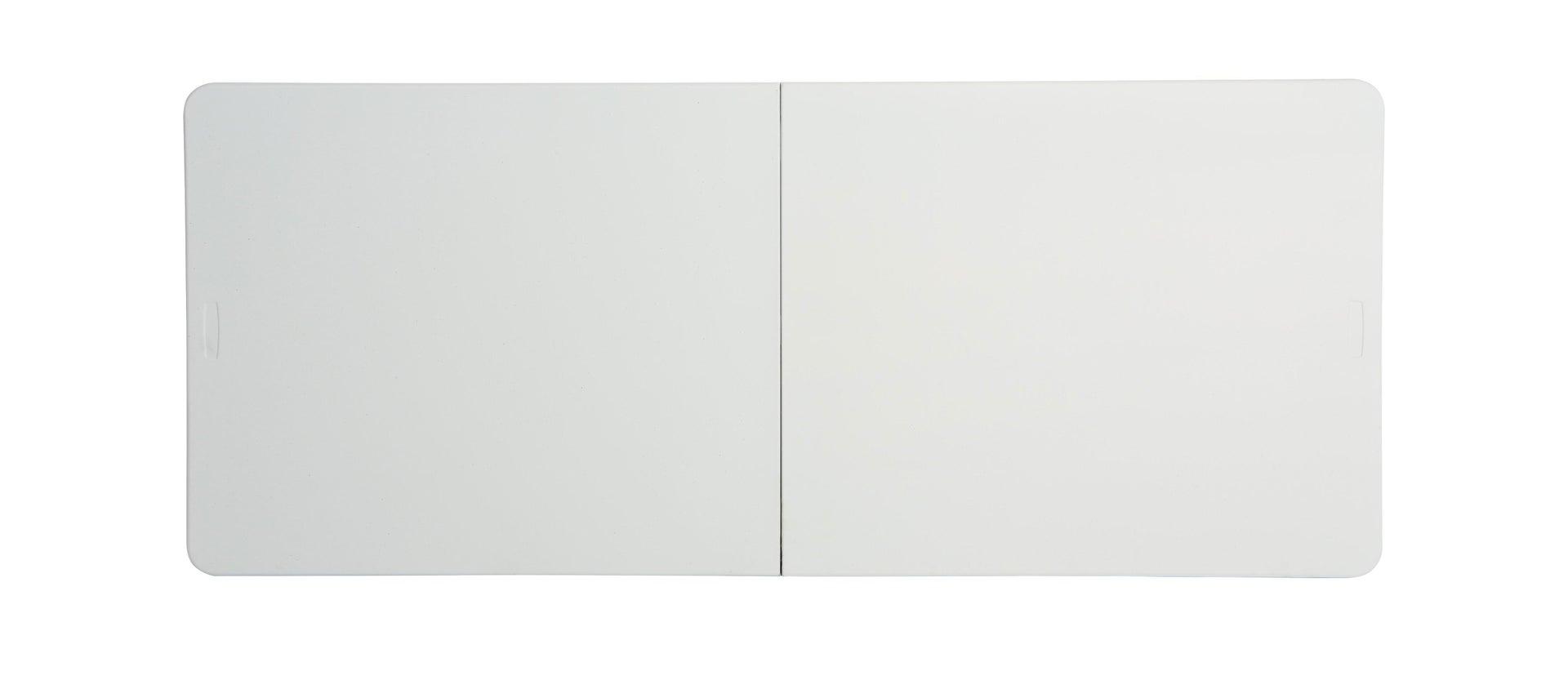 Tavolo da pranzo per giardino rettangolare Lifetime con piano in plastica L 76 x P 183 cm - 3