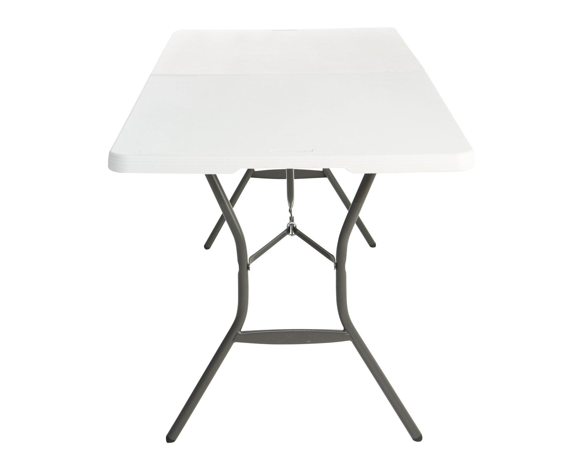 Tavolo da pranzo per giardino rettangolare Lifetime con piano in plastica L 76 x P 183 cm - 8