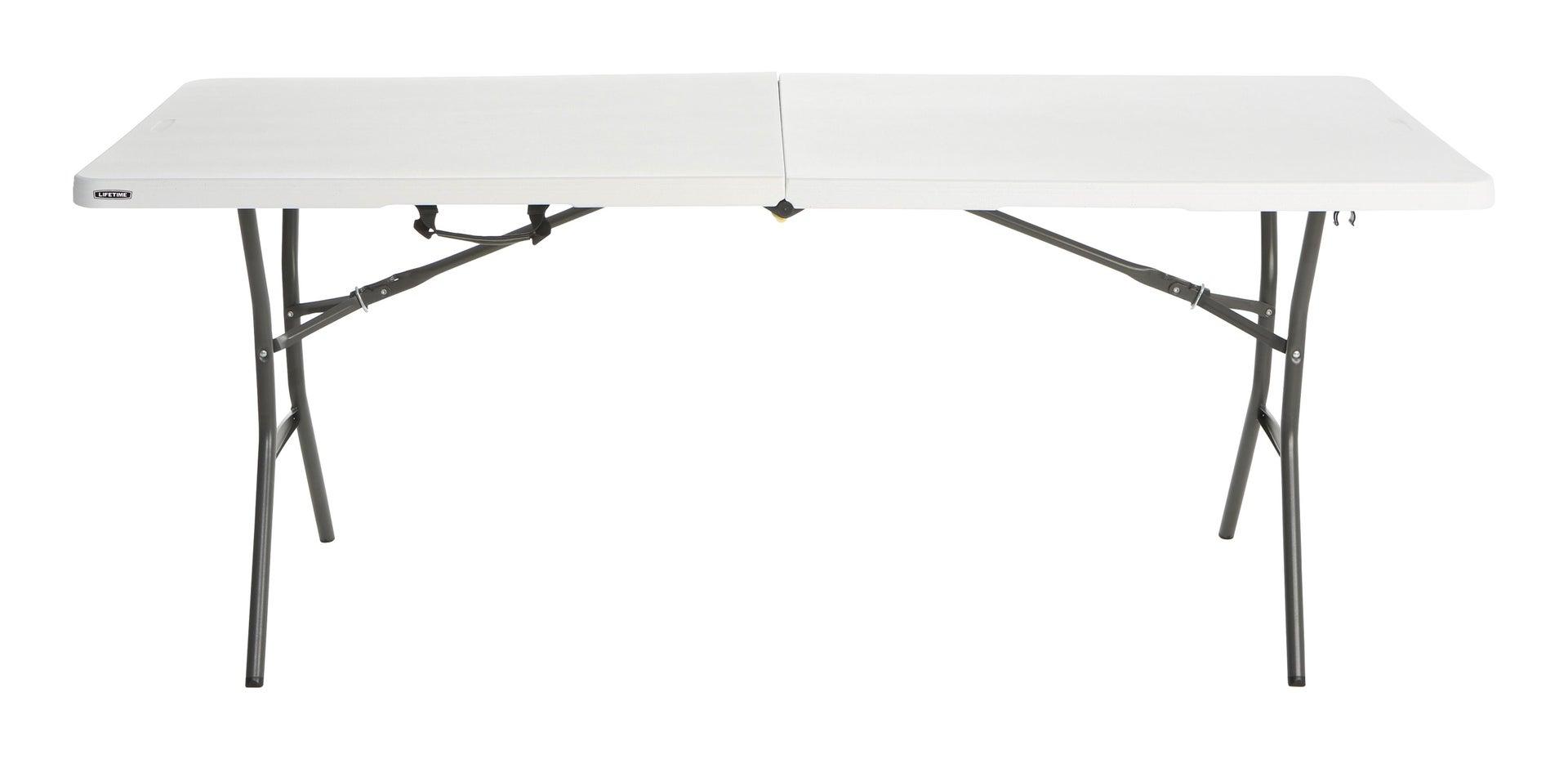 Tavolo da pranzo per giardino rettangolare Lifetime con piano in plastica L 76 x P 183 cm - 5