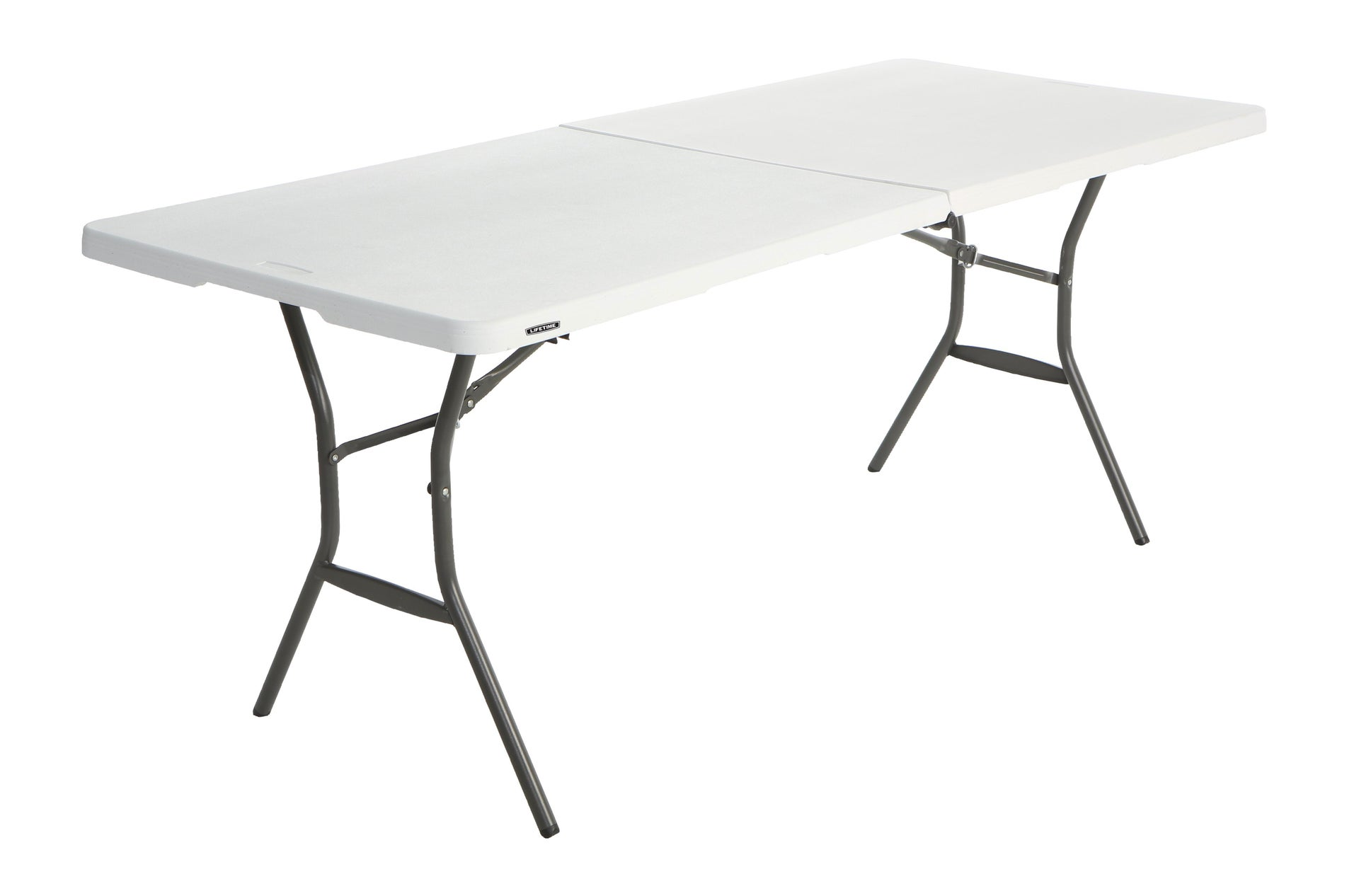 Tavolo da pranzo per giardino rettangolare Lifetime con piano in plastica L 76 x P 183 cm - 6