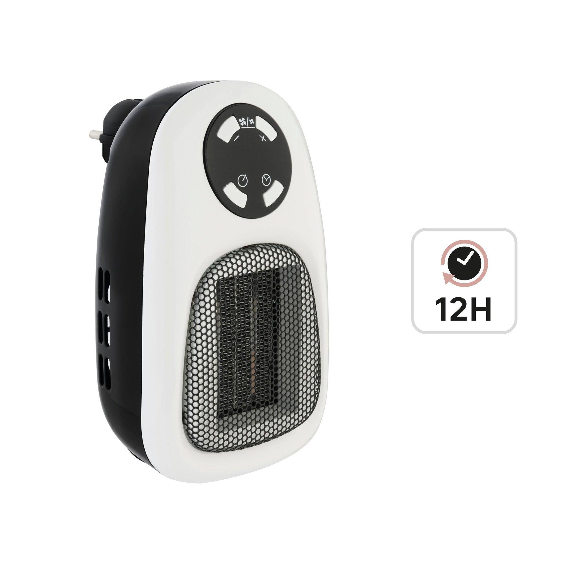 Termoventilatore elettrico EQUATION Handy nero 500 W - 2