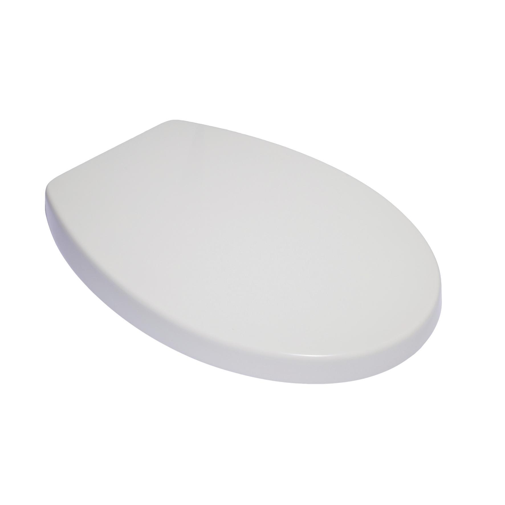 Copriwater ovale Originale per serie sanitari Idyl IDEAL STANDARD termoindurente bianco - 4