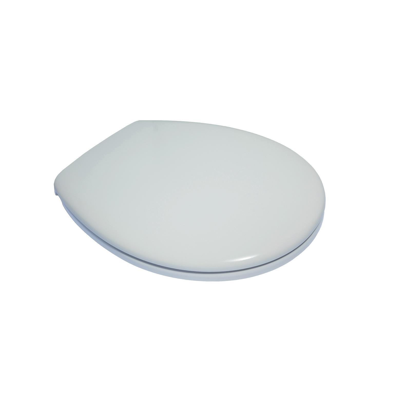 Copriwater ovale Originale per serie sanitari Miky New IDEAL STANDARD termoindurente bianco - 2
