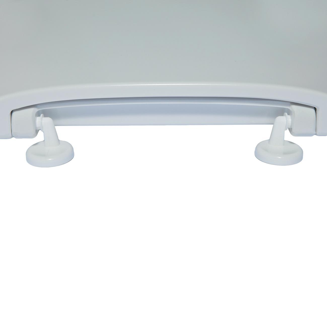 Copriwater ovale Originale per serie sanitari Miky New IDEAL STANDARD termoindurente bianco - 7