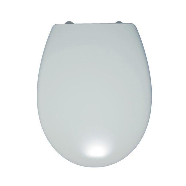 Copriwater ovale Originale per serie sanitari Miky New IDEAL STANDARD termoindurente bianco - 1