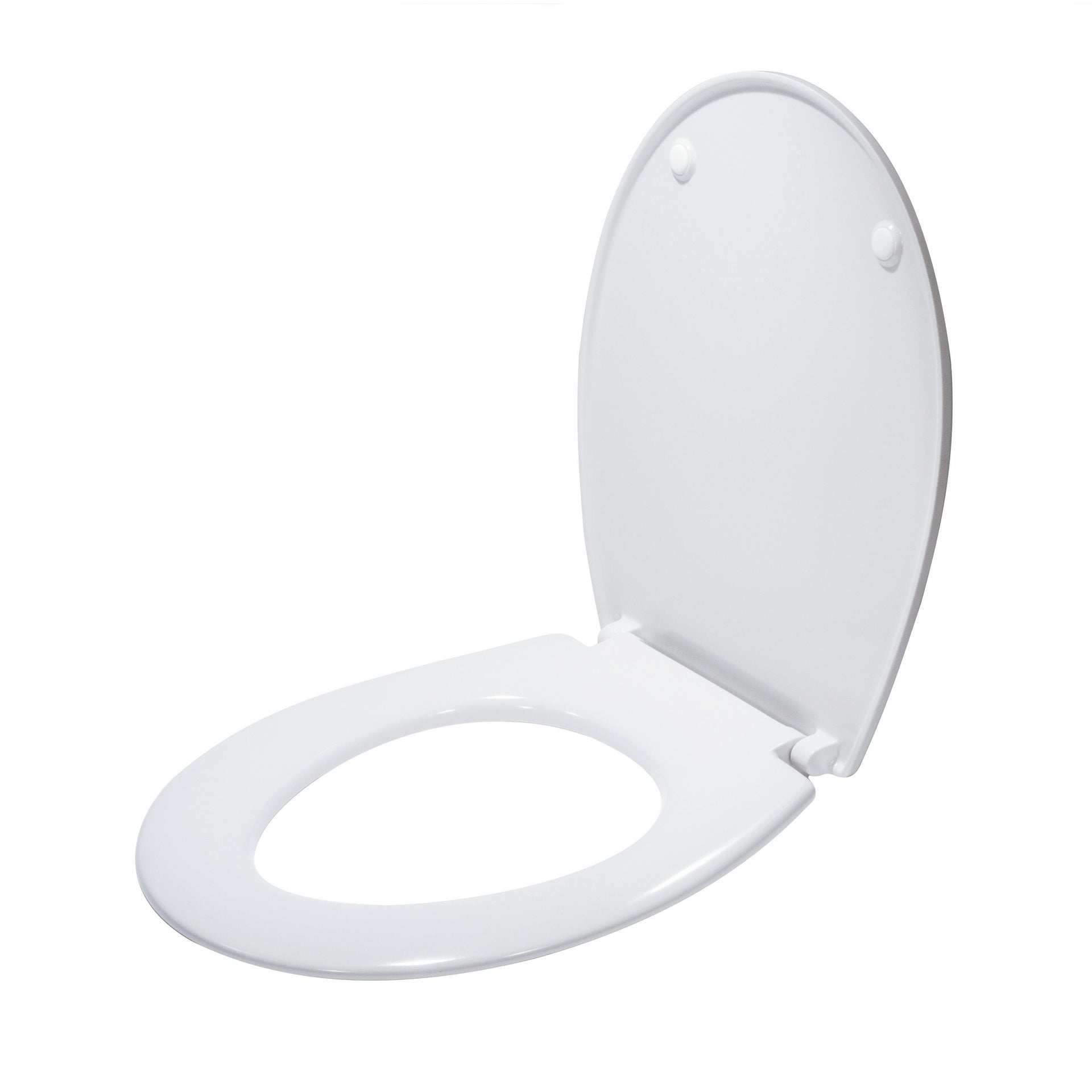 Copriwater ovale Originale per serie sanitari Miky New IDEAL STANDARD termoindurente bianco - 5