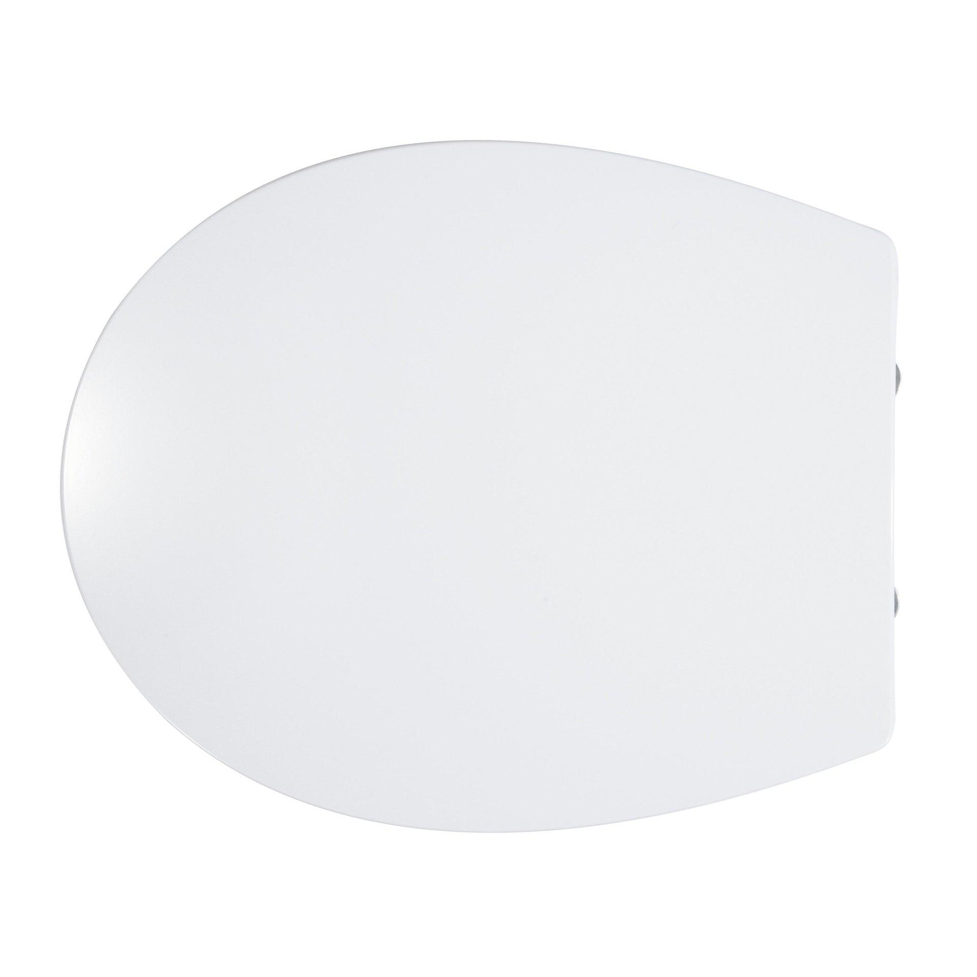 Copriwater ovale Originale per serie sanitari Miky New IDEAL STANDARD termoindurente bianco - 6