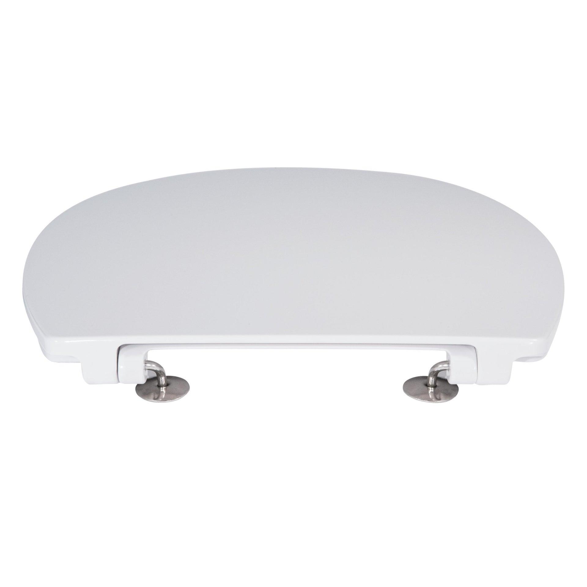Copriwater ovale Originale per serie sanitari Miky New IDEAL STANDARD termoindurente bianco - 3