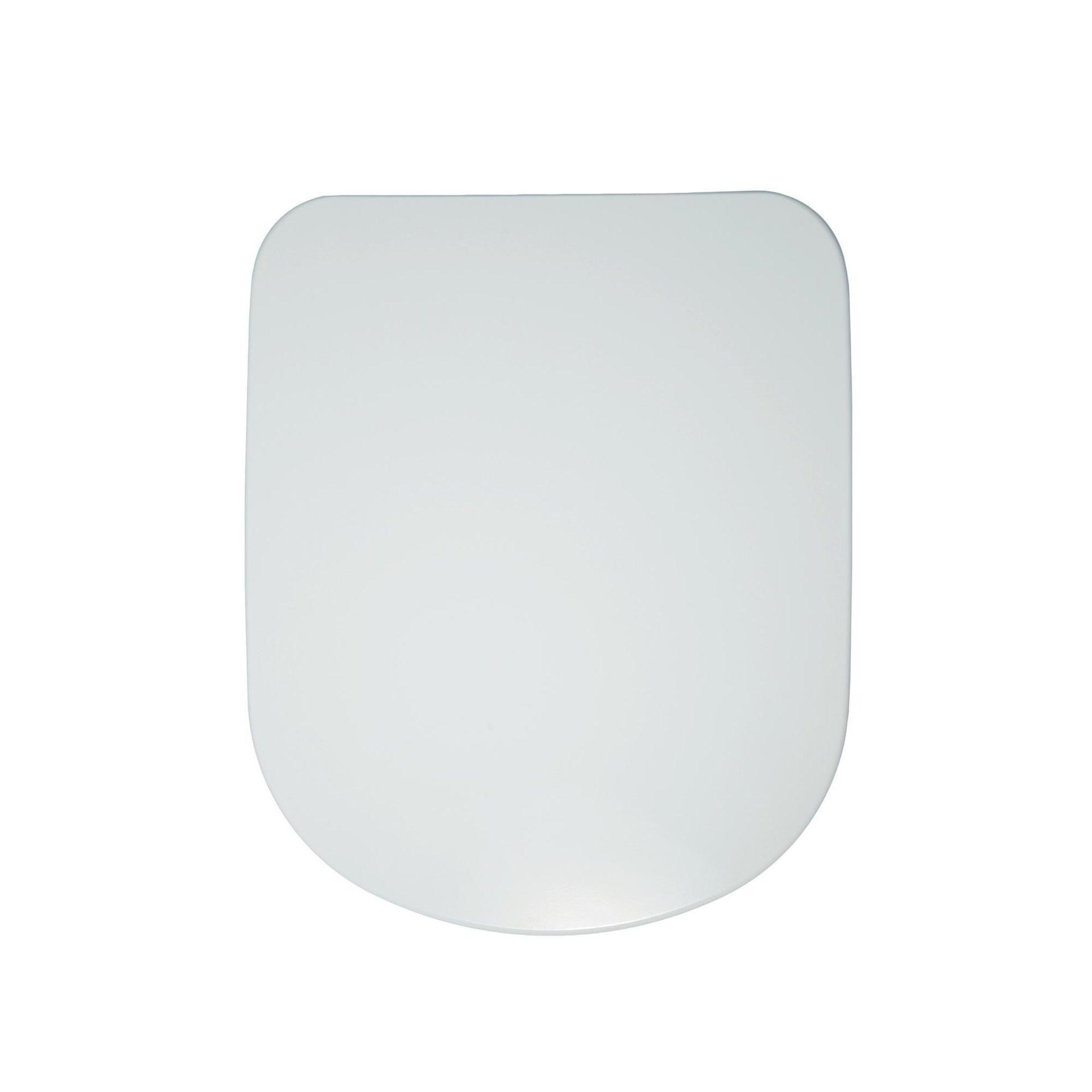 Copriwater ovale Originale per serie sanitari Gemma 2 IDEAL STANDARD termoindurente bianco - 3